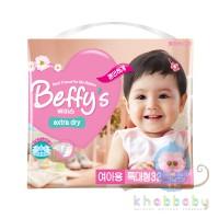 Beffys extra dry подгузники д/дев XL более 13 кг 32 шт