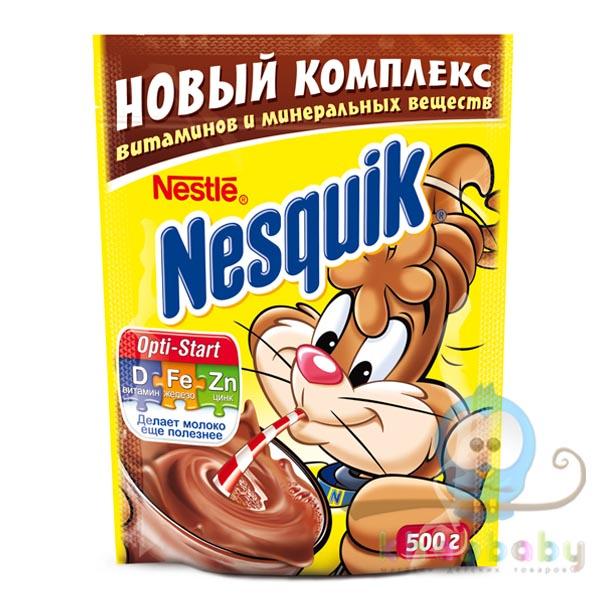 Какао-напиток быстрорастворимый Nesquik пакет 500 г