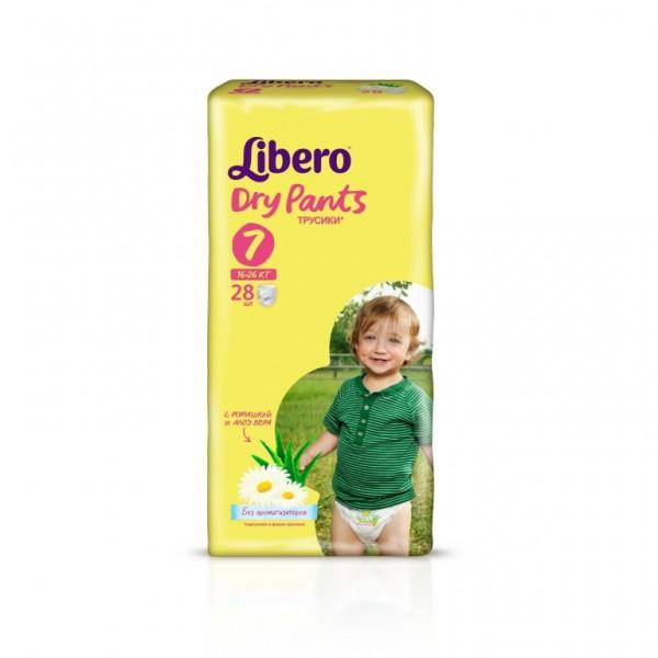 Трусики Libero Dry Pants XL+ (16-26 кг) 28 шт