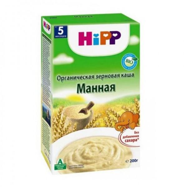 Каша HiPP органическая безмолочная Манная 200 гр