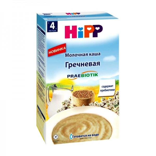 Каша HiPP молочная Гречневая с пребиотиками 250 гр