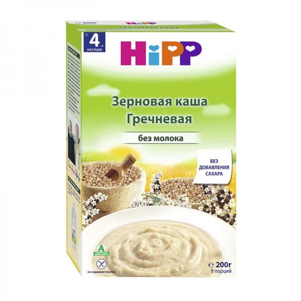 Каша HiPP органическая безмолочная Гречневая 200 гр