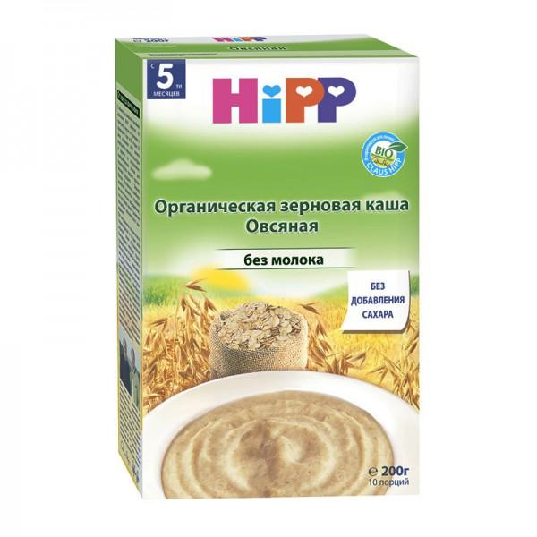 Каша HiPP органическая безмолочная Овсяная 200 гр