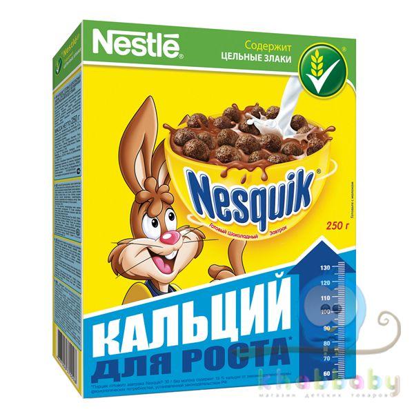 Nesquik Готовый шоколадный завтрак 250г