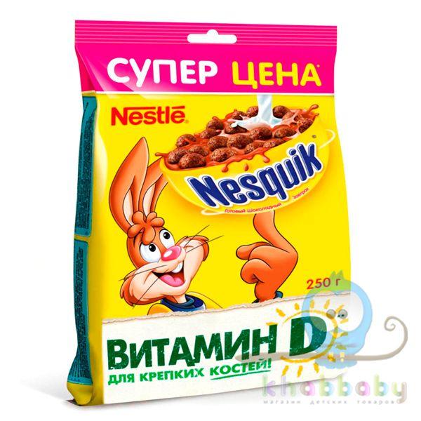Nesquik Готовый шоколадный завтрак пакет 250г