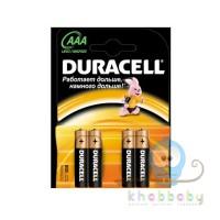 Батарейки Duracell ААА мизинчиковые 4 шт