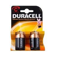 Батарейка Duracell Basic C 1.5V LR14 (средние) 2 шт
