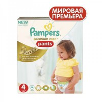 Подгузники-трусики PAMPERS Premium Care Pants (9-14кг) 44 шт