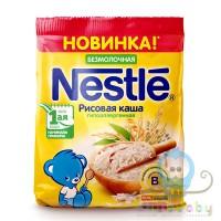 Нестле Каша Безмолочная Рисовая мягкая упак. 160г