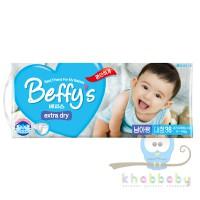 Beffys extra dry подгузники д/мал L 9-14 кг 38 шт