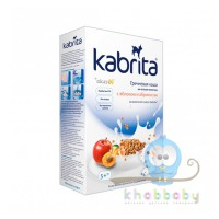 Kabrita гречневая каша на козьем молочке с яблоком и абрикосом 180 г 5+