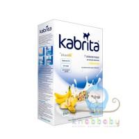 Kabrita 7 злаков каша на козьем молочке с бананом 180 г 6+
