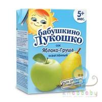 Сок Яблоко-Груша осветленный 200 мл тетрапак