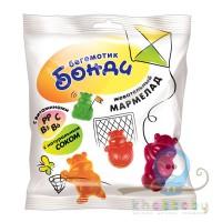 Жевательный мармелад с витаминами 70 г Бегемотик Бонди