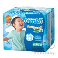 "Подгузники-трусики "" GENKI nepia"" XL  (12 -17 кг) 26 шт"