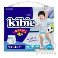 Kibie Quick Dry подгузники-трусики для мальчиков ХXL 17+ кг 24 шт