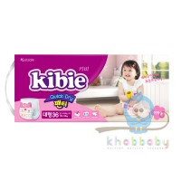 Kibie Quick Dry подгузники-трусики для девочек L 10-14кг 36 шт