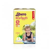 Трусики Libero Dry Pants 5 (10-14 кг) 50 шт