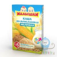 МАЛЫШАМ Каша мультизлаковая молочная 180г
